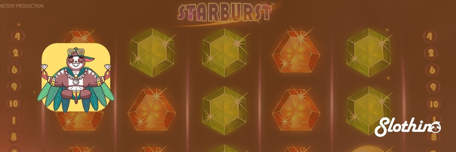 Slothino free spins on Starburst